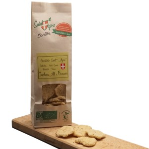 Crackers Ail & Romarin Biscuiterie Saint Agône 125 G